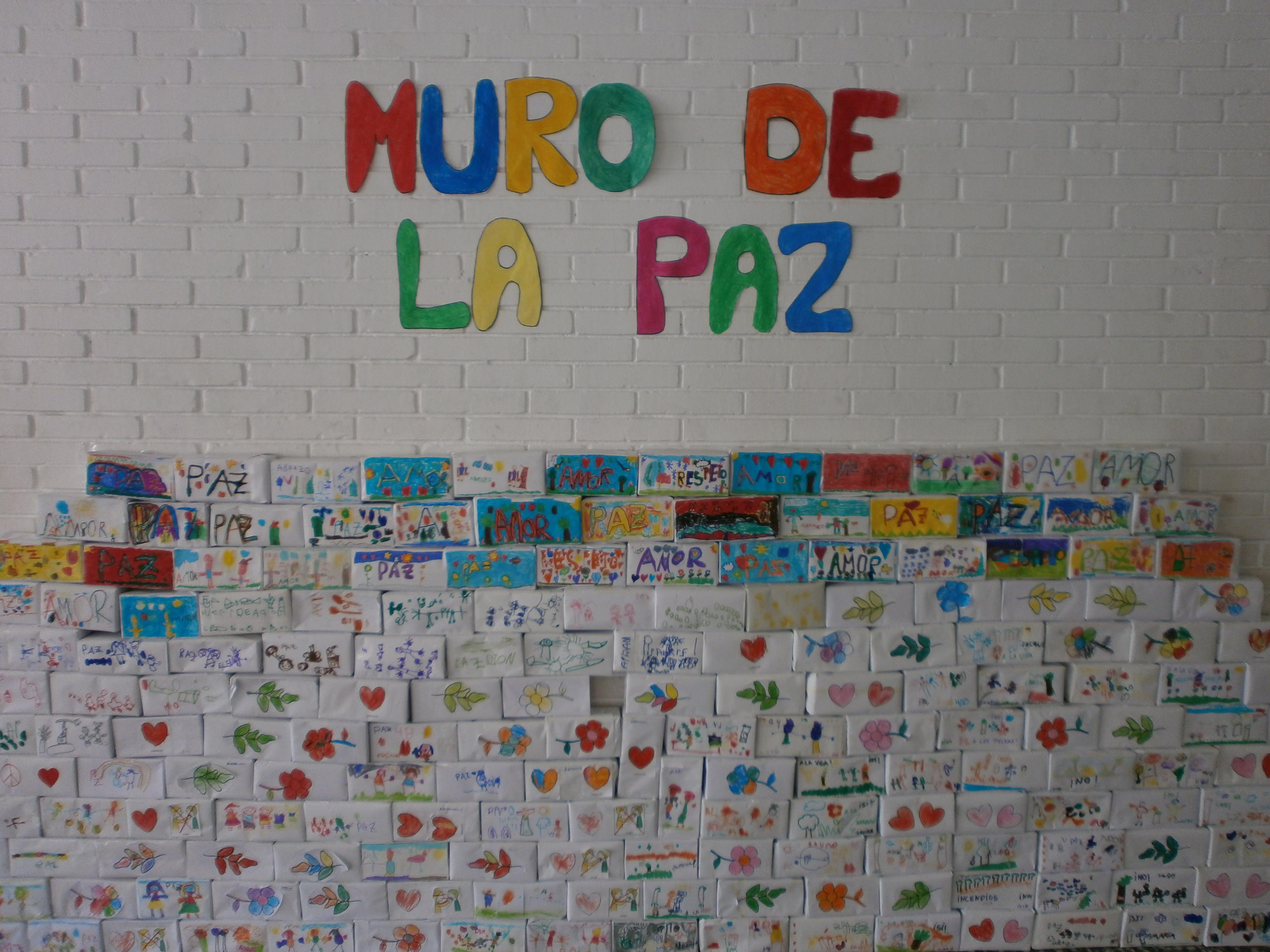 30 De Enero Día De La Paz Ceip Antonio Machado Estepona